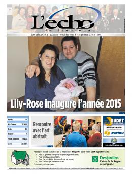 volume 86 no 3 - 16 janvier 2015