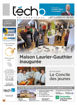 Volume 86 no 25 - 19 juin 2015