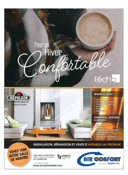Volume 91 no 46 -  Hiver confortable