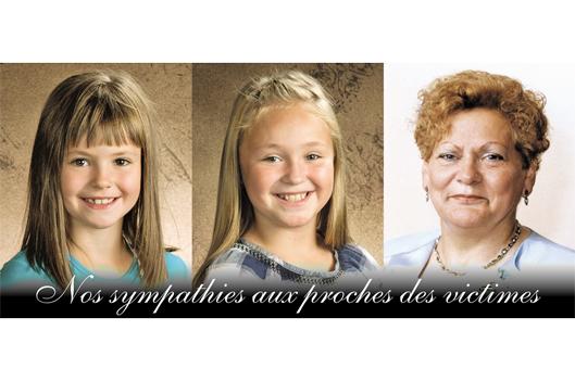 Vigile en hommage aux trois disparues