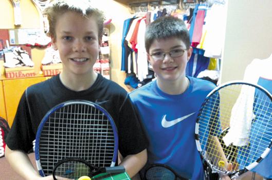 Tennis: les grands honneurs