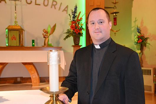 Un nouveau départ pour l'abbé Steve Lemay