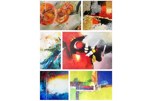 Osez l'abstrait: vernissage le 11 janvier - Claudia Collard : Culture