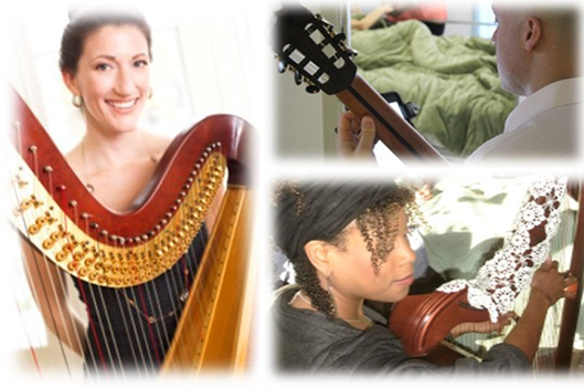 Concert de harpe et de guitare -   : Culture