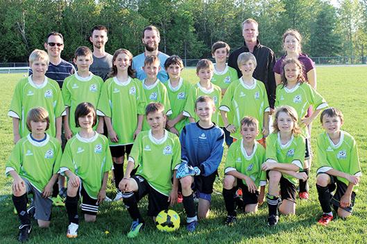 Un début de soccer compétitif!
