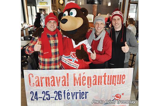Le 5e Carnaval Mégantuque: grand format! - Rémi Tremblay : Actualités