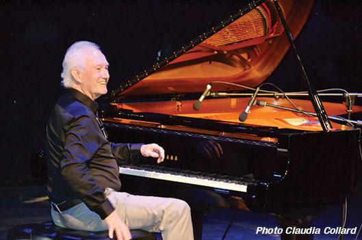 Le pianiste Michel Fortin charme l'auditoire de Montignac - Claudia Collard : Culture