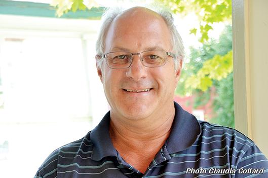 Richard Michaud, candidat dans Agnès