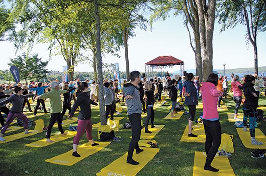 Yoga Mégantic sous le signe de l'ouverture -   : Actualités
