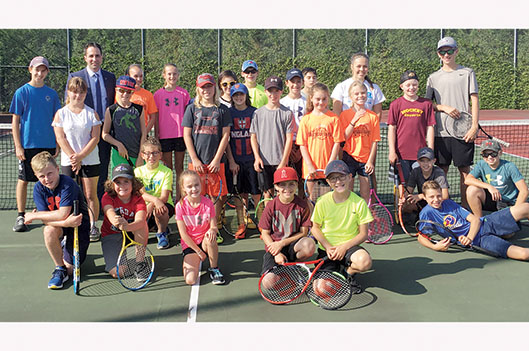 Le tennis junior couronne ses champions -   : Sports