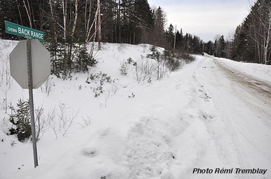 Saint-Romain: le chemin  des Abénaquis sous la neige! - Rémi Tremblay : Actualités