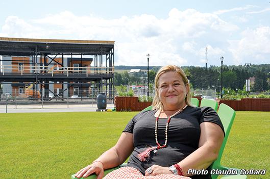 La reconstruction du centre-ville:  dossier aux multiples facettes - Claudia Collard : Actualités