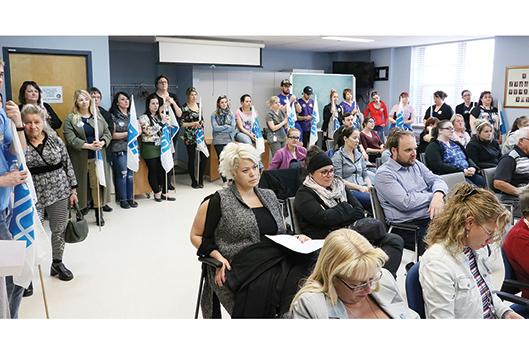 La FIQ fait passer son message aux administrateurs du CIUSSS - Rémi Tremblay : Actualités