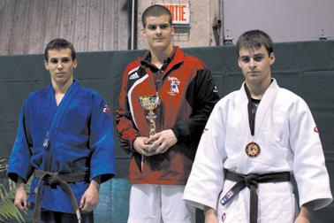 La médaille de bronze pour Maxime Isabel - Rémi Tremblay : Sports Judo
