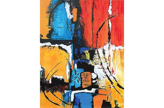 «Escapade à trois» à la Galerie du CSM - Claudia Collard : Culture