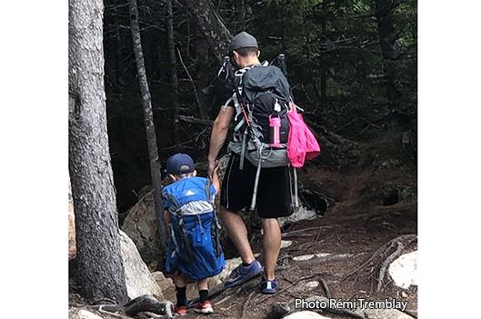 Éli au sommet de la montagne - Rémi Tremblay : Actualités