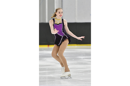 Émmy Beaudoin, passion patin