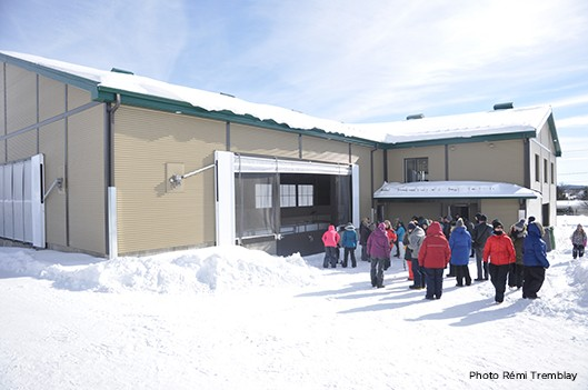 Frontenac inaugure son centre multifonctionnel