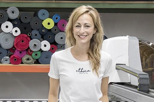 Julia Gagnon, finaliste du concours Femmes d'affaires du Québec