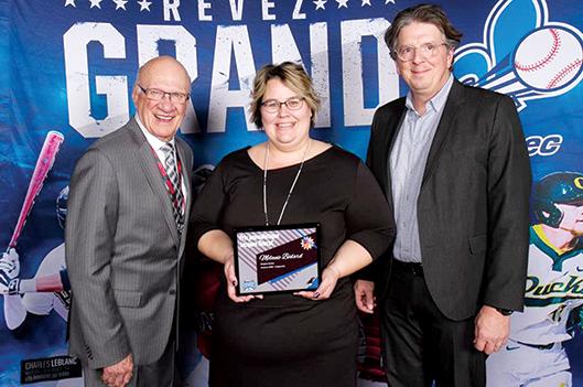 Mélanie Bédard récidive au gala méritas provincial -   : Sports