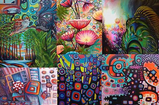 Œuvres de Wynne Parkin en exposition