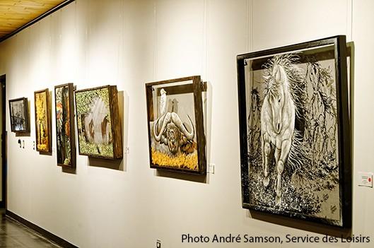 Plaisir des sens dans l'espace Galerie du CSM