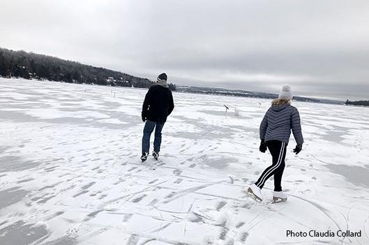 Plaisirs d'hiver sur le lac  -   : Actualités Tourisme et loisirs