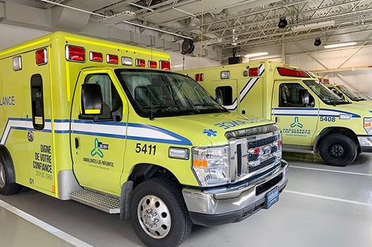 Quatre arrêts de services ambulanciers depuis le retour de l'horaire de faction - Claudia Collard : Actualités Santé