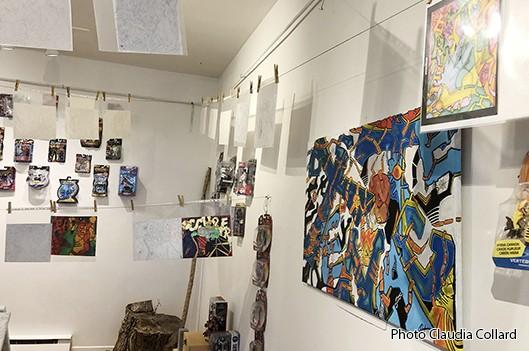 Rencontre avec trois artistes à la Galerie Métissage