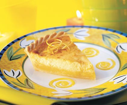 Recettes : Tarte au citron et au fromage